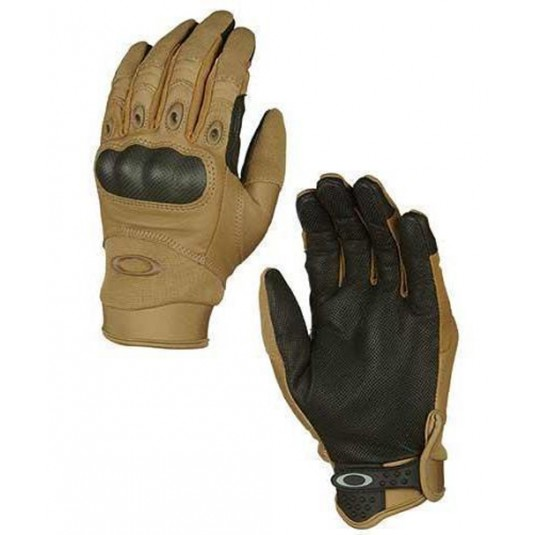 Oakley SI Assault Tactical Factory Pilot Glove Coyote New Improved Style 2015
