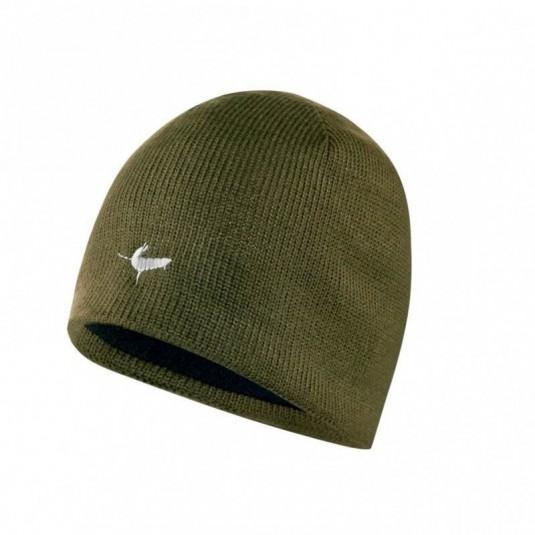 SealSkinz Waterproof Beanie Hat Olive KJ572
