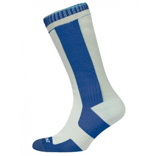 Sealskinz Thin Mid Length Sock White/Navy