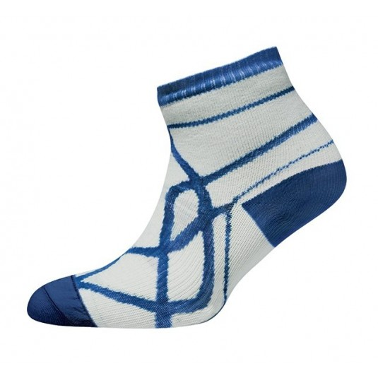 Sealskinz Thin Socklet White/Navy