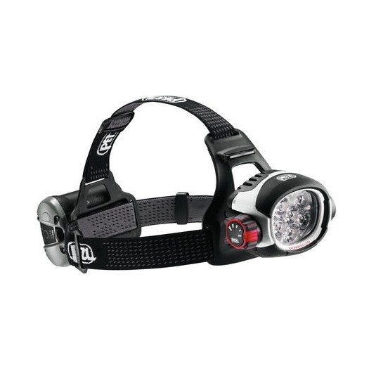 Petzl Ultra Rush head torch with ACCU 2 ULTRA rechargeable battery