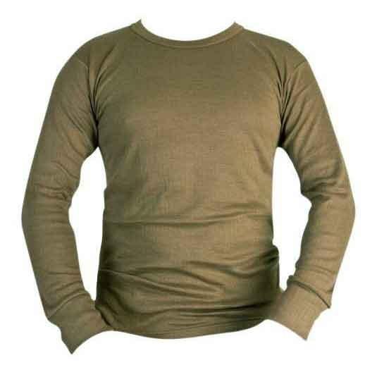 Kombat UK Thermal Long Sleeved Top Black And Olive