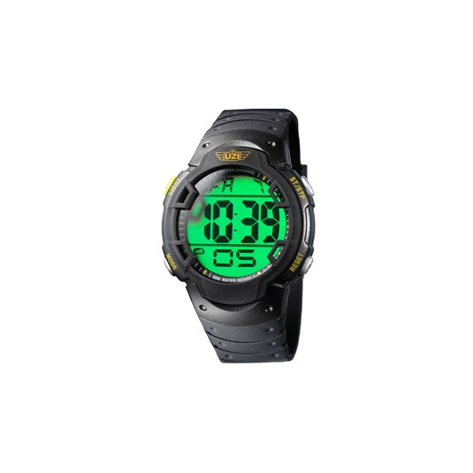 UZI Guardian Digital Watch with Rubber Strap