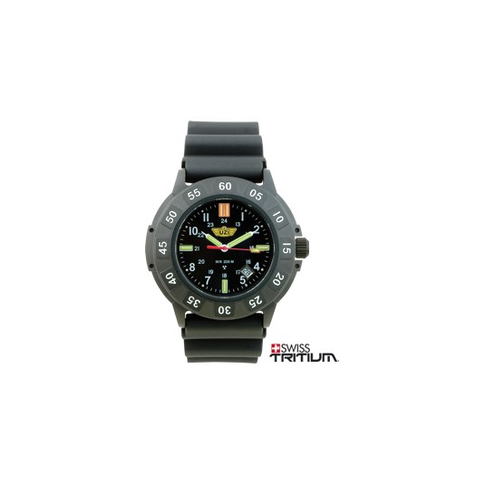UZI Protector Watch with Rubber Strap