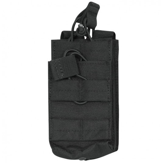 Viper Tactical Single Duo Mag Pouch Black
