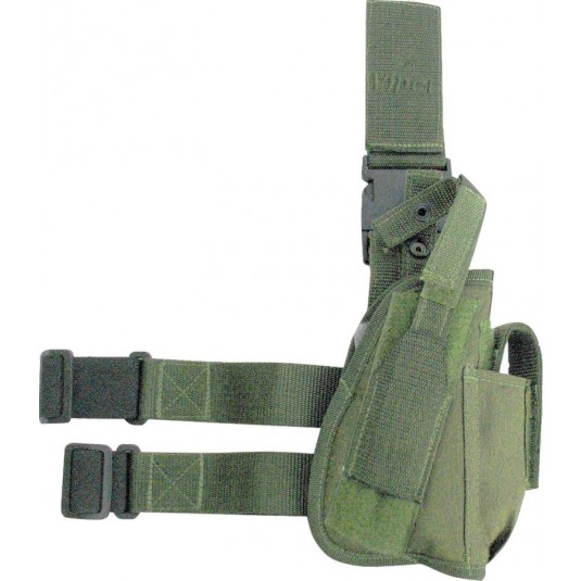 Viper Tactical Leg Holster Right Handed O/Green