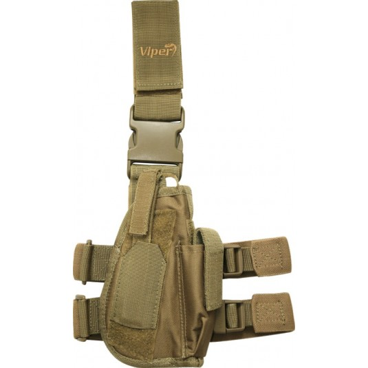 Viper Tactical Leg Holster Right Handed Sand