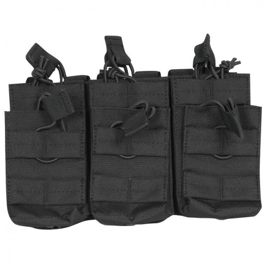 Viper Tactical Treble Duo Mag Pouch Black