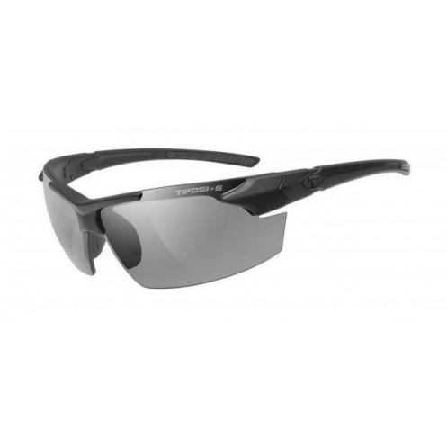 fa3e4eb2335 Tifosi Tactical Jet FC Sports Sunglasses Matte Black 3 Lense Array with Case