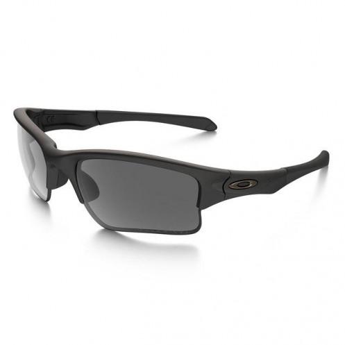 c180dd4f9471a Oakley SI Quarter Jacket Sunglasses Matte Black Grey Polarised (Youth Fit)