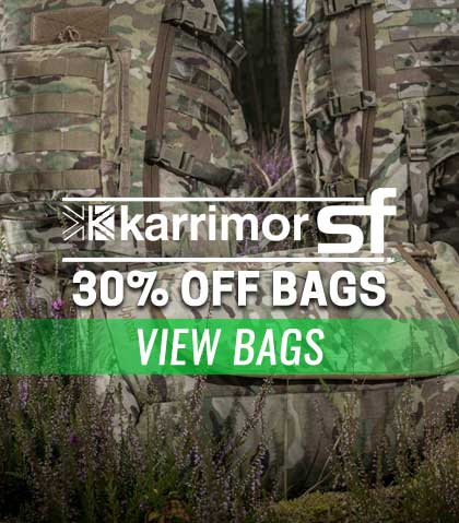 Karrimor SF bags are now 30% off! Limited time offer!