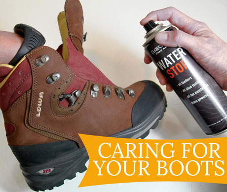 Caring For Your Boots