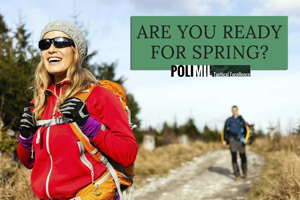 Spring Hiking with Polimil