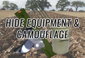 Hide Equipment & Camouflage