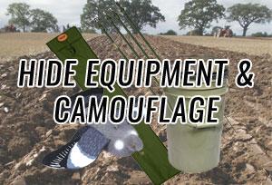 Hide Equipment & Camouflage