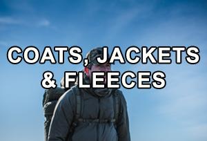 Coats, Jackets & Fleeces