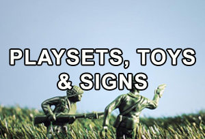 Play Sets, Toys & Signs