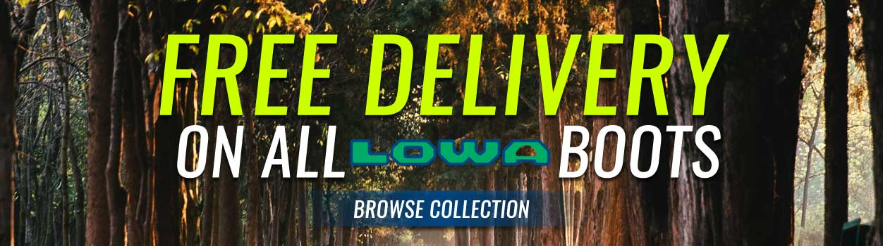 Free Delivery On All Lowa Boots! Explore our selection now!