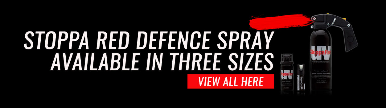 Stoppa Red self defense sprays available now!